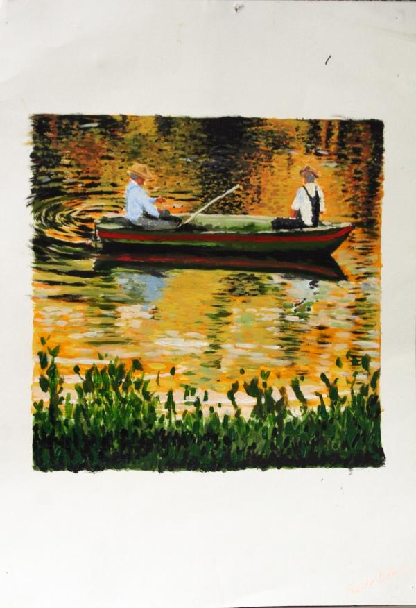 Fischer, Impressionismus