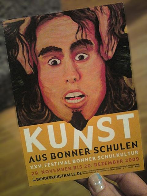 Kunst an Bonner Schulen Flyer