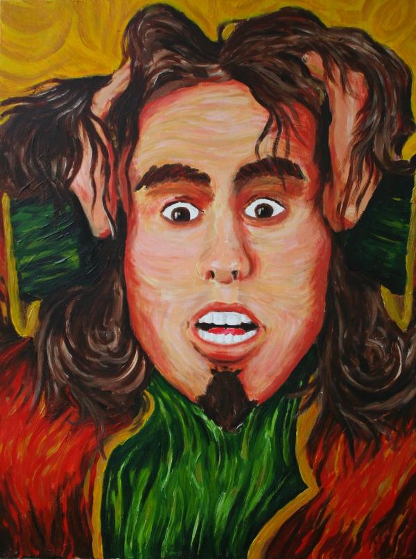 Selbstportrait, Impressionismus