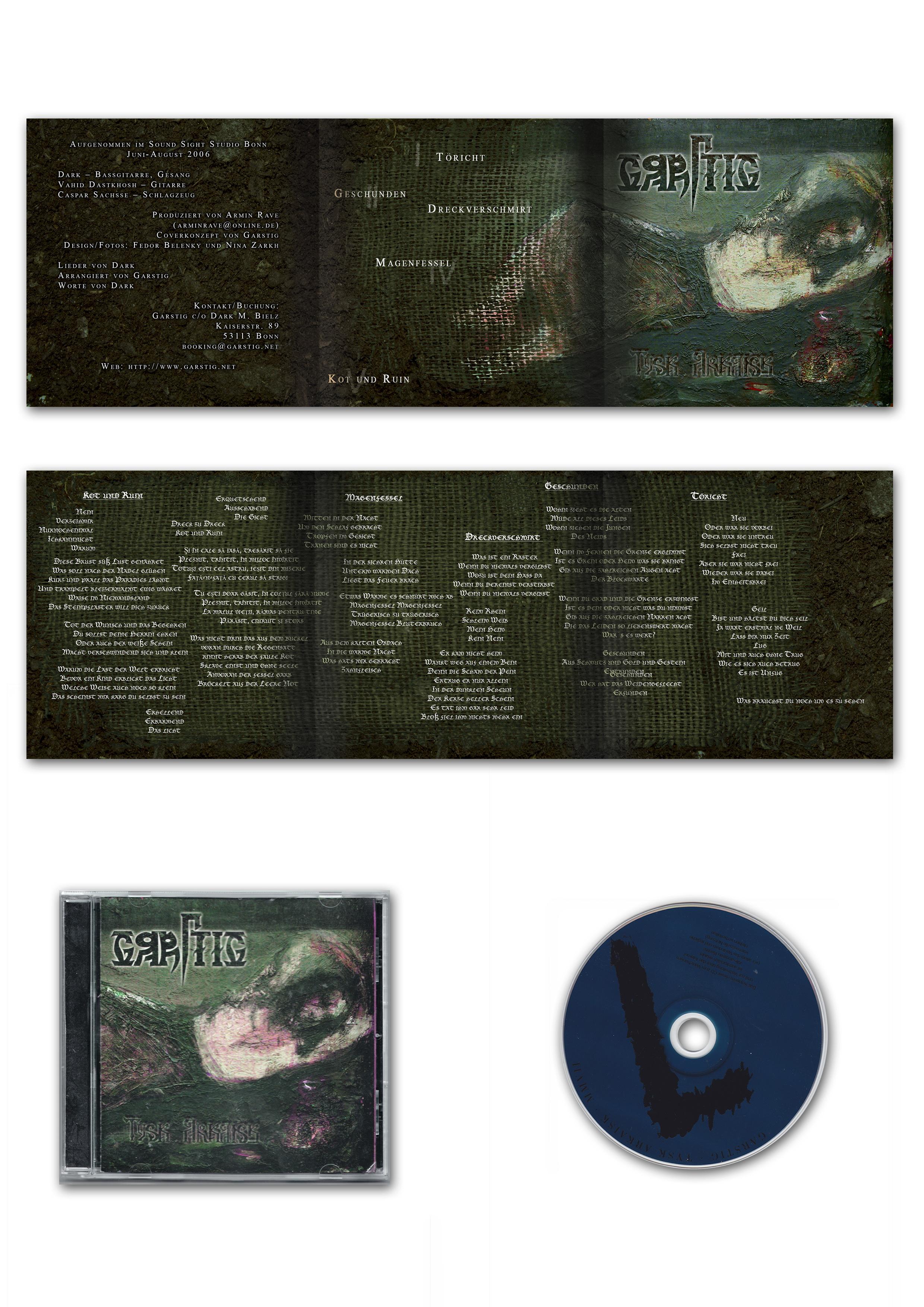 Garstig - Tysk Arkaisk - CD