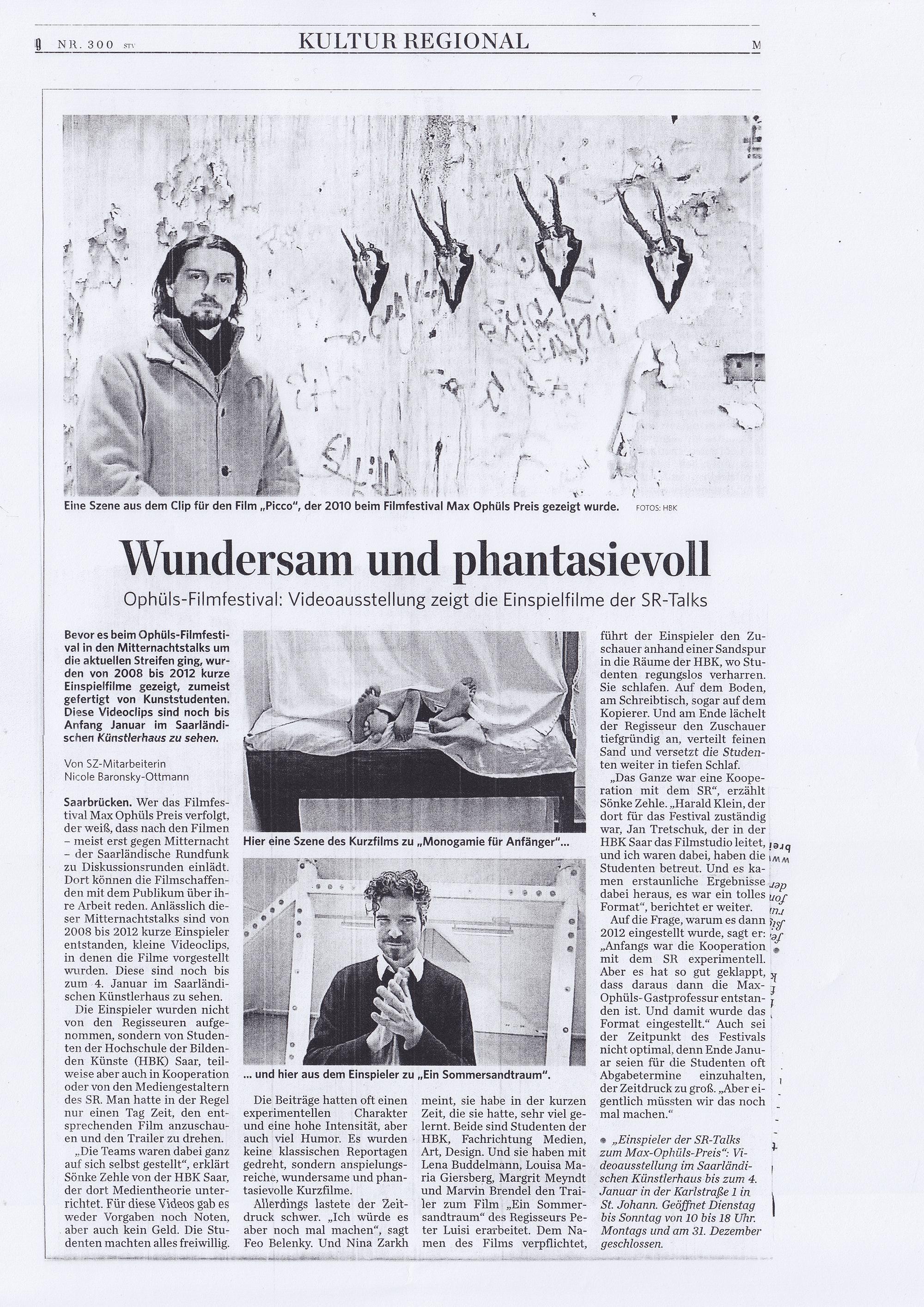 MOP - Zeitungsartikel SZ